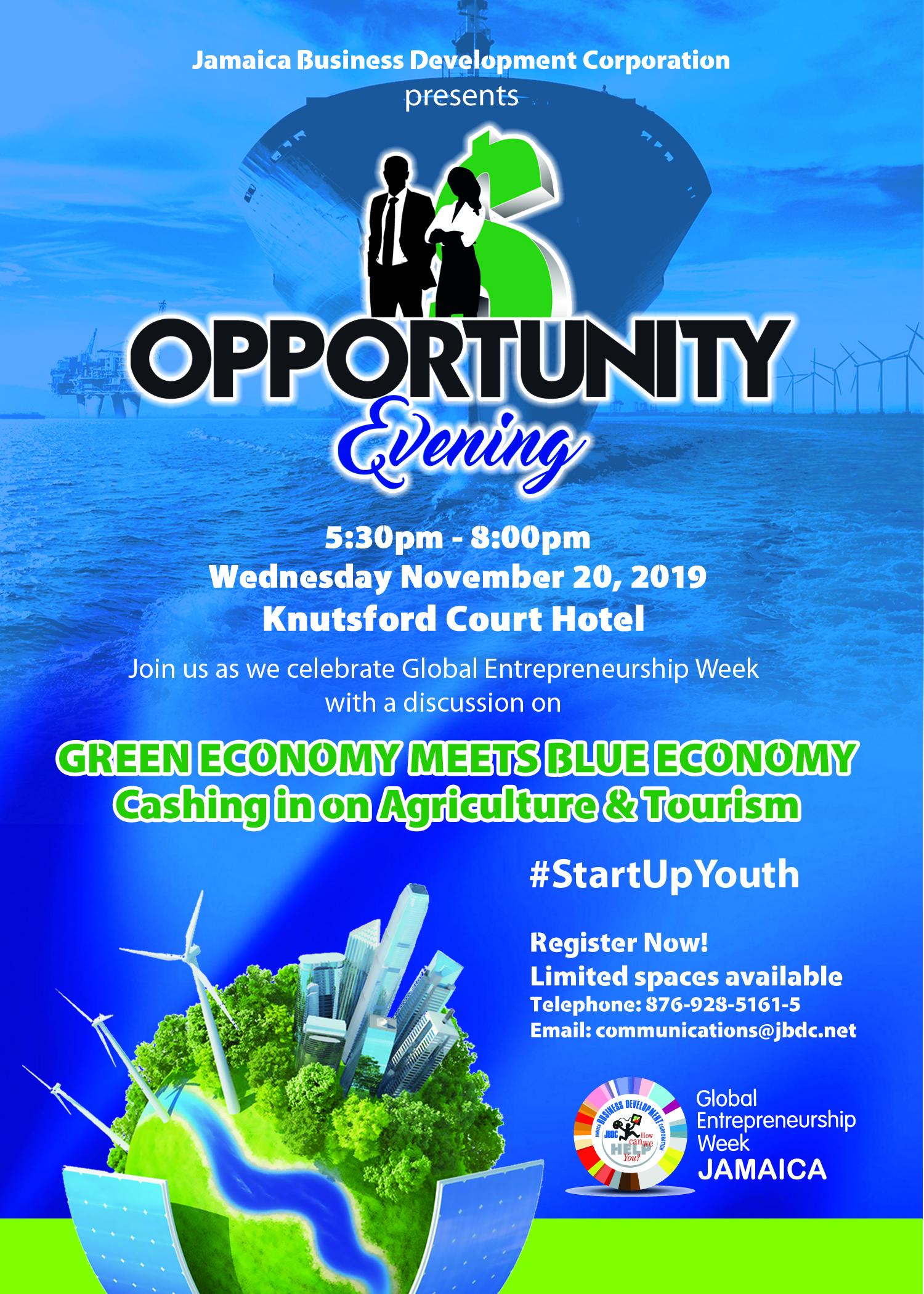 Opportunity Eveniong 2019 Invitation